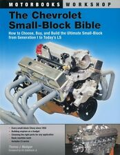 Chevrolet Small-Block Bible - How Build 265 283 302 307 327 350 400 Chevy Engine