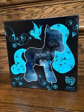 2008 Hasbro My Little Pony G3 Exclusive MLP Art Blue & Black Bird Shadow Box