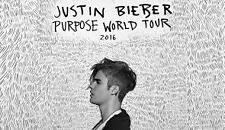2 Justin Bieber MEET AND GREET and Floor Seats Purpose Tour San Jose 3/17/16