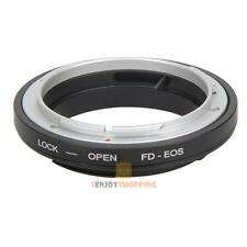 FD-EOS Ring Adapter Lens Adapter FD Lens to EF for Canon EOS 60D Mount Camera