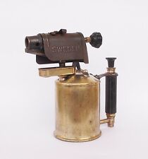 ANTIQUE SWEDISH BRASS BLOWTORCH