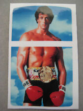 Windproof  Fliptop Lighter  - Sticker Decal  - [ rocky balboa ]
