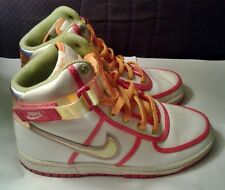 Nike Swoosh High Top Women's Multi Color Basketball Shoes, Size 5.5 Y.