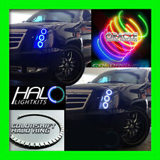 2007-2014 ORACLE CADILLAC ESCALADE COLORSHIFT LED LIGHT HEADLIGHT HALO KIT