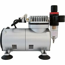 Airbrush Mini Air-Compressor (Black)