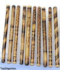 "47""/120cm DIDGERIDOO ROASTED BURNS NATIVE HANDWORK didje,dijeridu,didgeridu,dig"