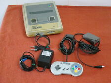 SUPER NINTENDO + CONTROL PAD ORIGINAL + CABLES / PAL - SPAIN / SNES  **  566