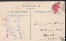Genealogy Postcard - Family History - McKenzie - Dunedin - New Zealand  BH5324