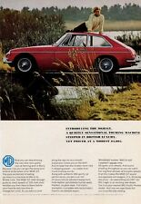 1966 MGB/GT British Motor Corporation PRINT AD