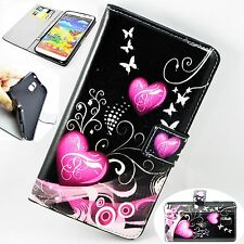 Holder Leather Wallet Flip Rubber Cover Case For Samsung Galaxy Note 3 III N9000