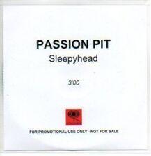 (176J) Passion Pit, Sleepyhead - DJ CD