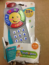 Fisher-Price Laugh & Learn Click 'n Learn Remote Damaged Retail Packaging New
