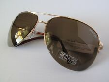 New Kenneth Cole Reaction Sunglasses KC1098 Gold/Brown