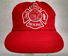RARE Vintage FDNY BOXING Ball Cap SNAP BACK One Size ADJUSTABLE Made in USA