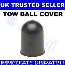 Swan neck or bolt on type PLASTIC Tow Ball Cover in Black / Towing Hitch Cap