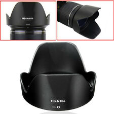 Lens Hood for Nikon HB-N106 18-55 D3300 Lens D5300 AF-P Accessories 10-100mm