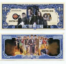 Dr Who    MILLION   DOLLAR  BILL
