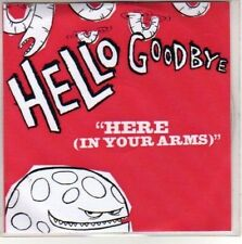 (H282) Hello Goodbye, Here (In Your Arms) - DJ CD