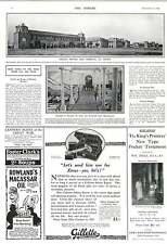 1916 British War Hospital At Poona Gillette Safety Razor