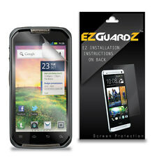 4X EZguardz LCD Screen Protector Skin Cover HD 4X For Motorola Primus XT621