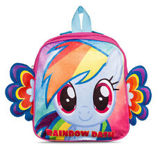 "Backpack 10.5"" My Little Pony With Wing Rainbow Dash NEW"