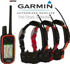 Garmin Alpha 100 + TT15 Collar GPS / GLONASS - 3 DOG Track & Train Bundle