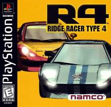 Ridge Racer Type 4 - PS1 PS2 Complete Playstation Game
