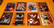 FOOTBALL Lot 8 Pc - Inserts Parallels SP, Black Label Serial #d, Gold Zone, etc.