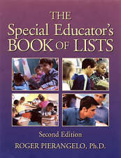 The Special Educator′s Book of Lists, Roger Pierangelo Ph.D.