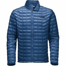 The North Face Men's THERMOBALL Full-Zip Insulated Stowable Jacket Shady Blue M