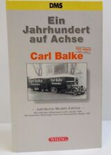 Ein Jahrhundert auf Achse Carl Balke Sonderedition DMS Wiking 1 : 87 OVP (NO)