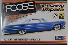 CHEVROLET IMPALA 1964  CHIP FOOSE CUSTOM REVELL 85-4050 1:25 PLASTIC KIT