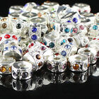 WHOLESALE CRYSTAL RHINESTONS FINDINGS STOPPERS LOCKS/CLIPS EUROPEAN CHARMS BEADS