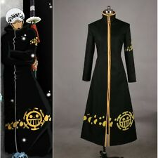 One Piece Trafalgar Law Coat Hat 2 years later Cosplay Costume