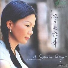 FREE US SH (int'l sh=$0-$3) ~LikeNew CD Huang Hong-Ying: September Story