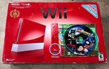 Nintendo Wii 25th Anniversary Super Mario Brothers With One Game Included