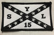 Outlaws MC SYLO AOA White SYL15 Stars and Bars Patch