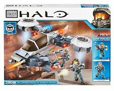 Mega Bloks Halo Police Air Support Hornet CYY59 390pc Buildable Playset