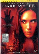 DARK WATER Jennifer Connelly DVD FILM Usato Excellent Vers.Noleggio