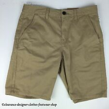 TIMBERLAND SHORTS MENS WEBSTER LAKE TWILL CHINO CLASSIC FIT BEIGE W30 RRP £65