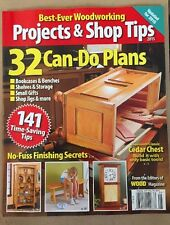Best Ever Woodworking Projects & Shop Tips Plans Tips Secrets 2015 FREE SHIPPING
