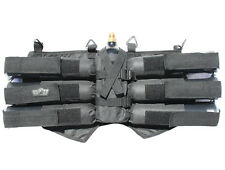 GXG Paintball 6+1 Harness Pod Pack Black Paint Carrier NEW FREE SHIPPING