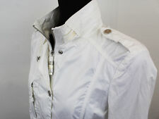 TRUSSARDI WOMEN'S WHITE JACKET SIZE 44