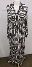 Vintage button front diane von furstenberg dress size 6