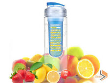 NEW 700ML FRUIT INFUSION INFUSING INFUSER WATER BOTTLE SPORTS GYM HEALTH MAKER
