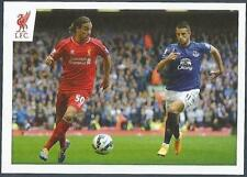 PANINI LIVERPOOL STICKER-2014/15- #154-LAZAR MARKOVIC IN ACTION V EVERTON