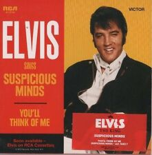 ELVIS PRESLEY Suspicious Minds 2 TRACK CD  NEW - NOT SEALED