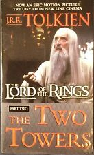 Lord of the Rings The Two Towers Pt 2 JRR Tolkien 2001 Paperback Christopher Lee