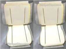 62 63 64 65 GM A X B Body Front Bucket Seats Foam Buns Pair PUI IN STOCK