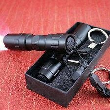 Flashlight Torch Handy Mini CREE LED Light Lamp Keychain Black Waterproof Hot